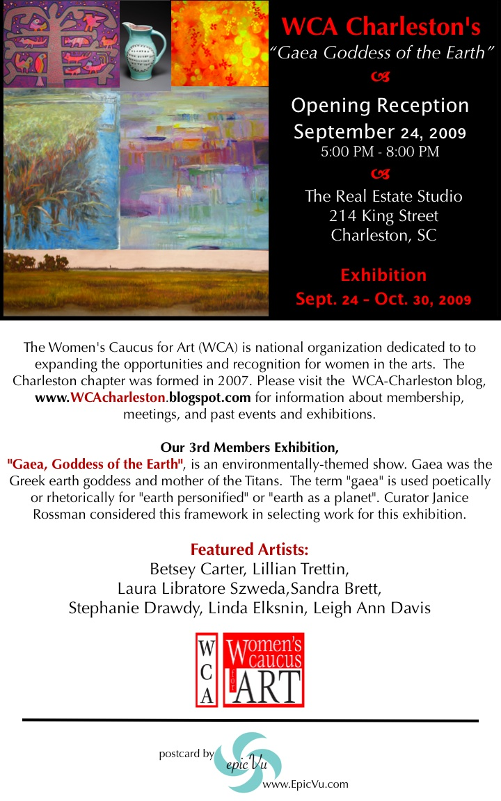 Gaea Goddess of the Earth Opening Reception