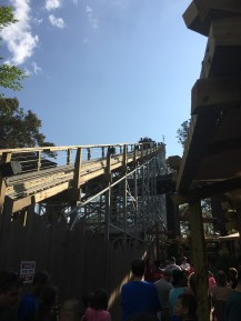 The lift hill