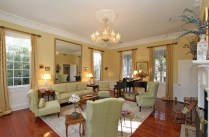 Grand formal living room