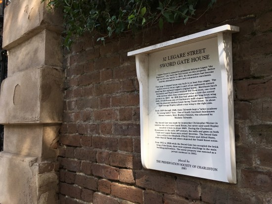 Preservation Society Plaque