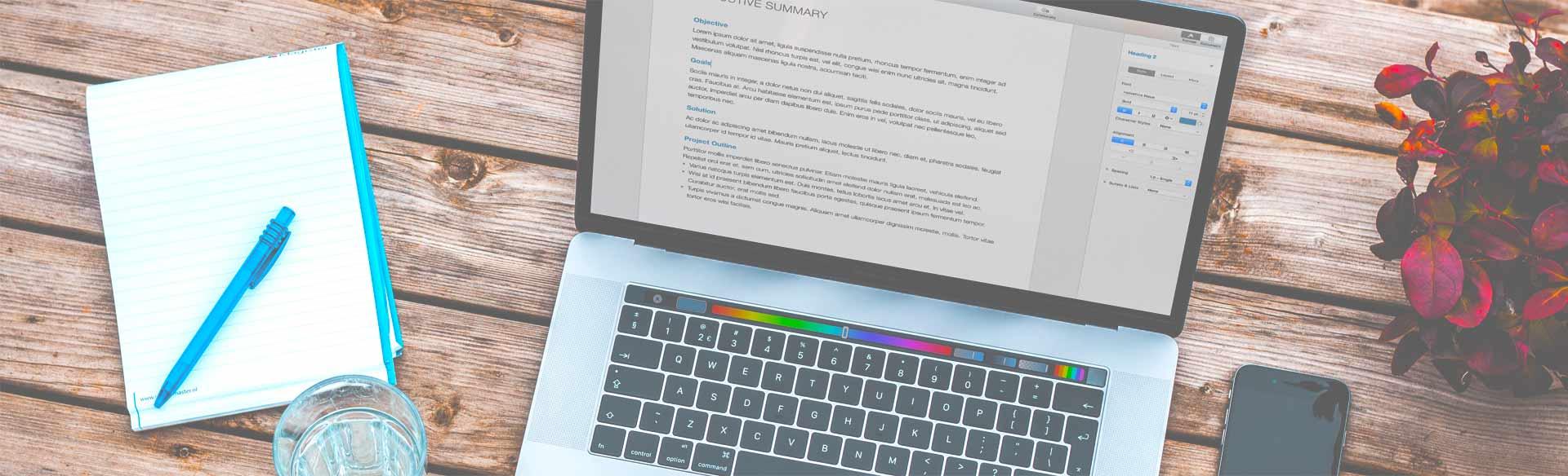 Planning your website.