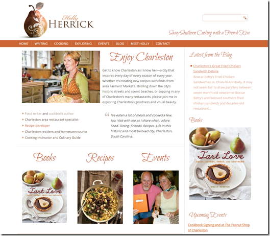Holly Herrick Cookbook Author Food Blogger and Writer