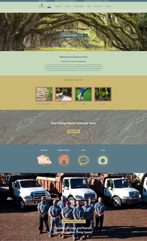 All Seasons Mulch Charleston New Website