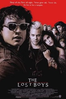 The Lost Boys poster