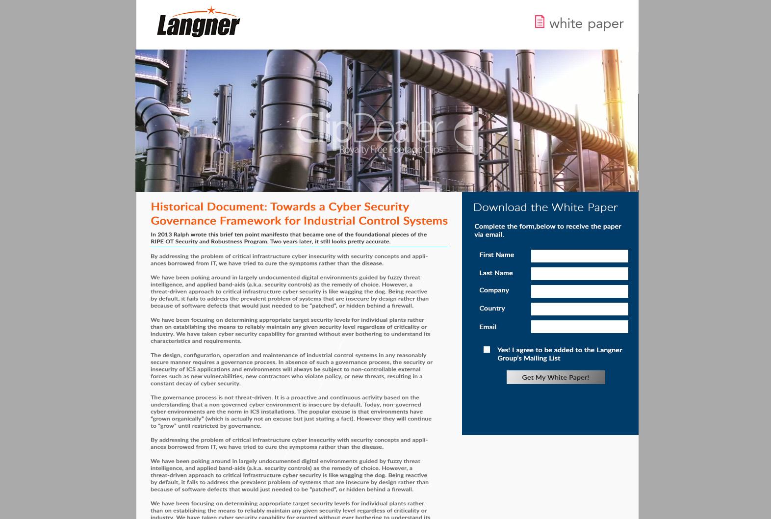 langner landing page1