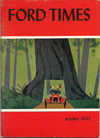Ford Times | October 1952 | Charley Harper Prints | For Sale