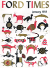 Ford Times | January 1958 | Charley Harper Prints | For Sale