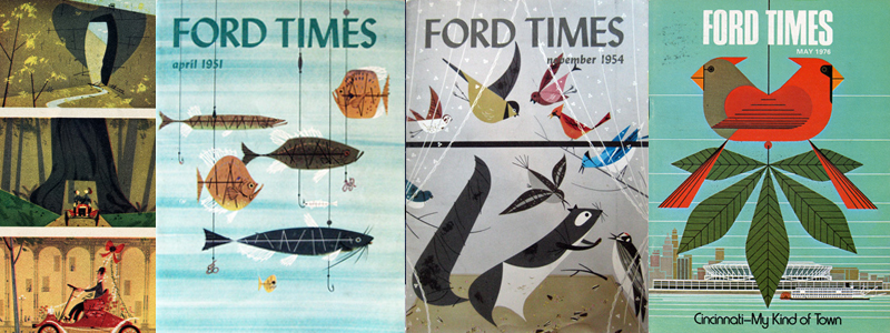 Ford Times | Charley Harper Prints | For Sale