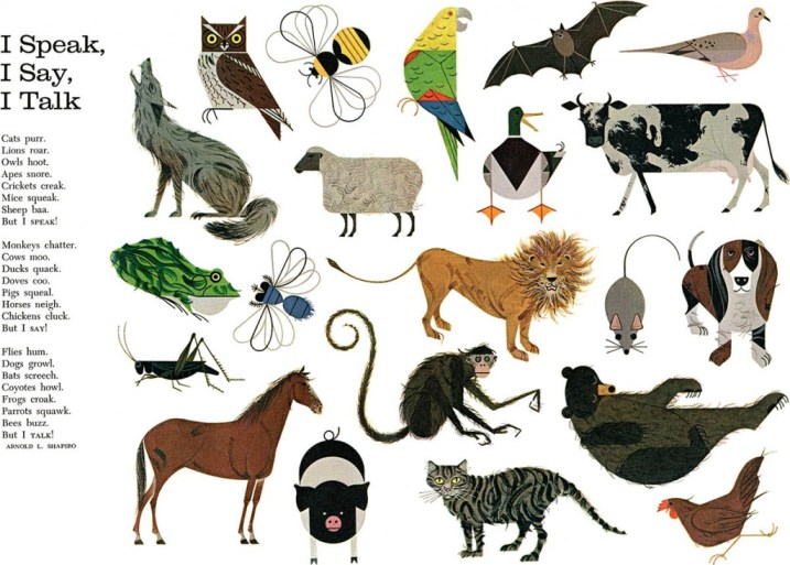 Animal Mosaic | Charley Harper Prints | For Sale