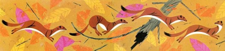 Squirrels   Charley Harper Prints   For Sale