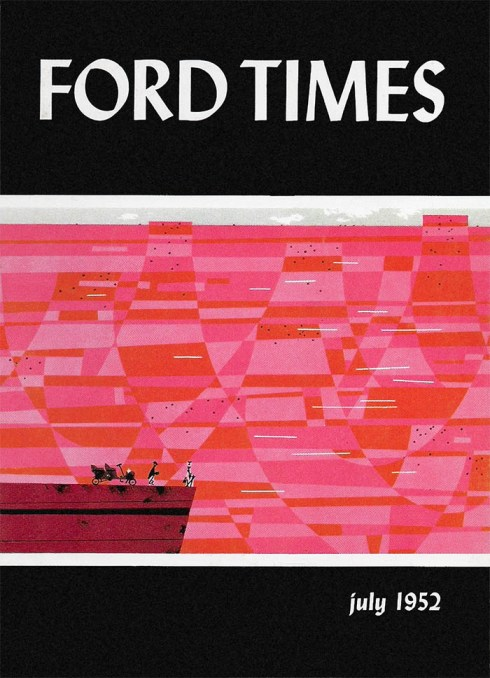 Ford Times | July 1952 | Charley Harper Prints | For Sale