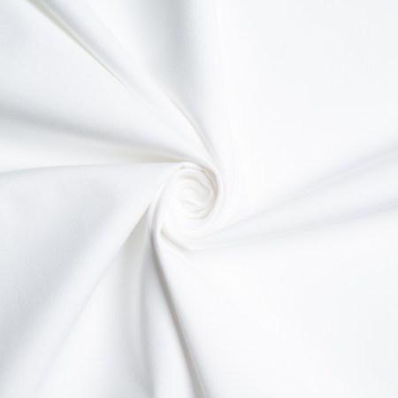 White Solid Poplin