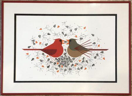 Cardinal Courtship
