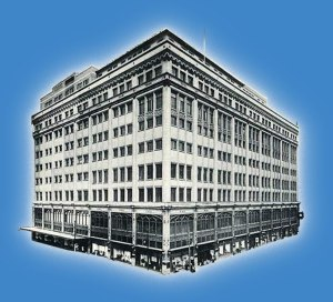 picture of an old-fashioned department store
