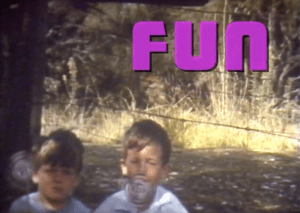 Title card for the Have Fun training video for TV Promo Producers