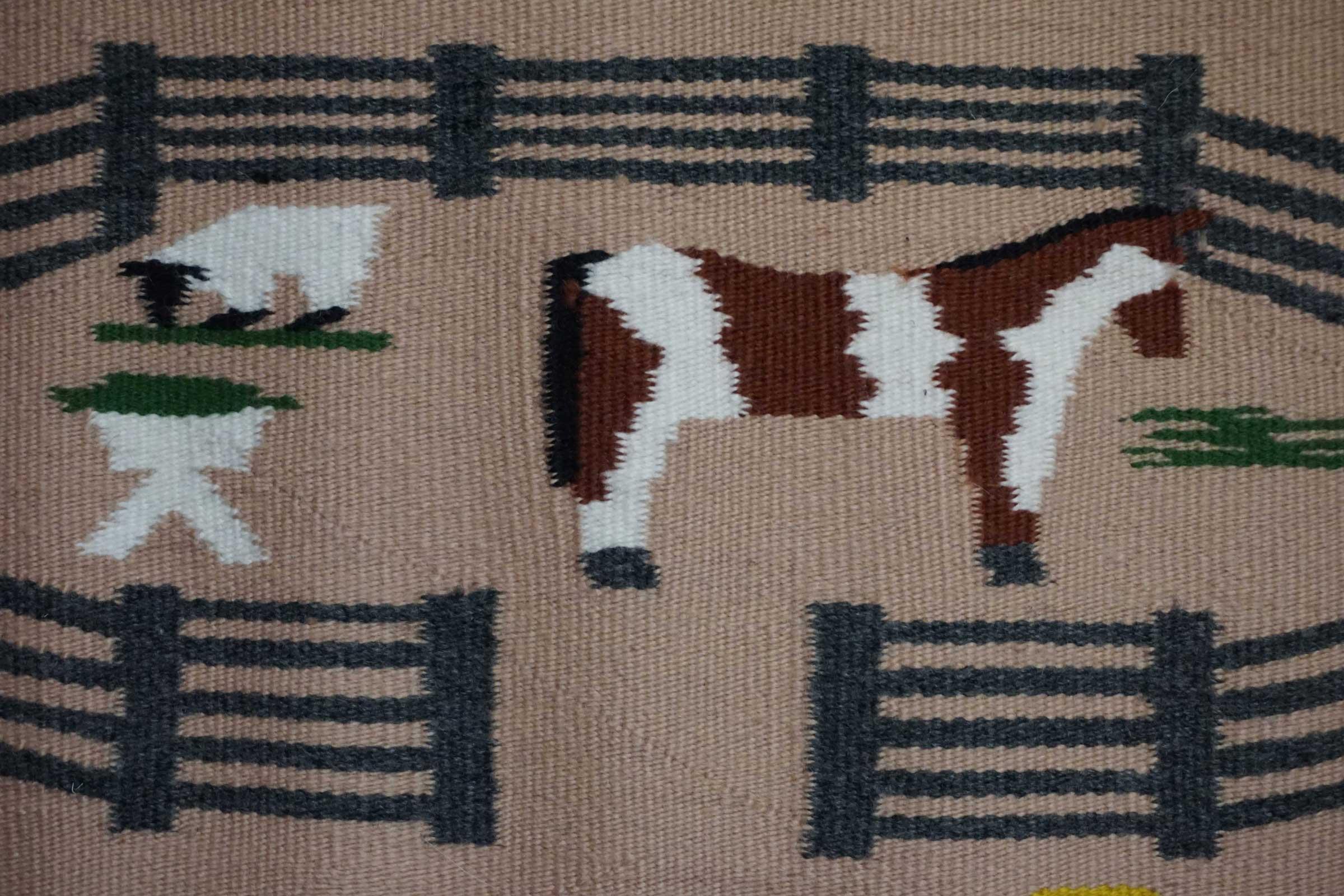 Blankets American Horses Saddle Flag