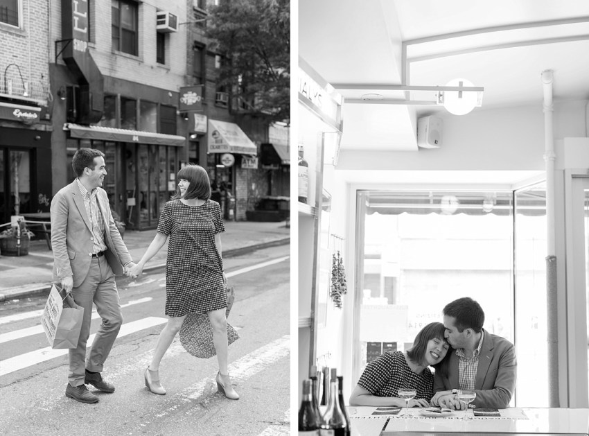 Black & White Photography, Engagement Session NYC