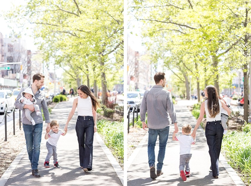 New York City Family Portraits, Charlie Juliet Photography