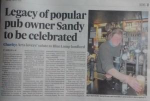 p&j sandy brown article