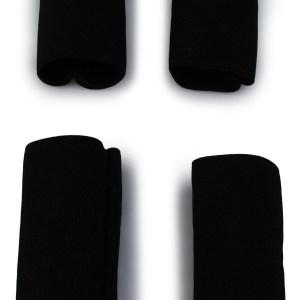 Accordion Buckle Protectors in black