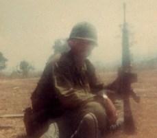 Feb 1968 near MACV Compound in Kontum