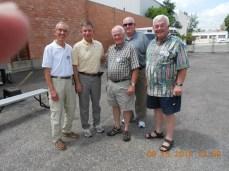 Howard, Tom, Bill, Bud, Fred