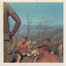 L-R; Dick Snow, Gary Tedeschi, Lt Henry Norring