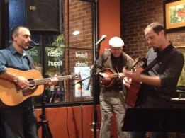Charlie Dentel @Mentobe Cafe with Bill O'Connor and Bobby Pennock 3