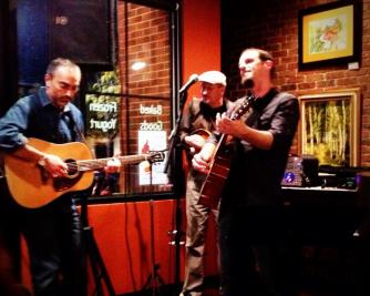Charlie Dentel @Mentobe Cafe with Bill O'Connor and Bobby Pennock