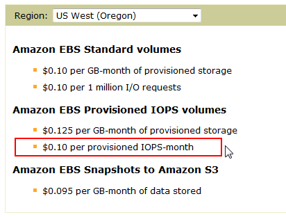 provisioned-iops-month