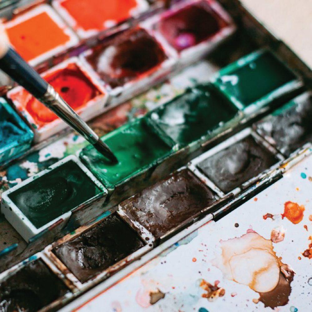 Art improves overall mental health