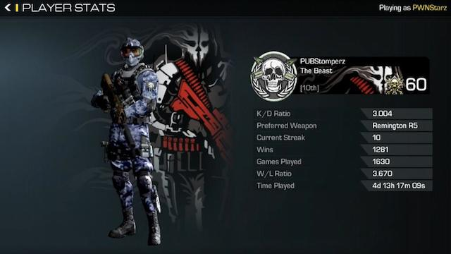 First Player To Reach 10th Prestige In Ghosts Revealed