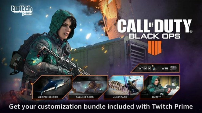 How to get the July Twitch Prime Loot Bundle for Call of Duty: Black