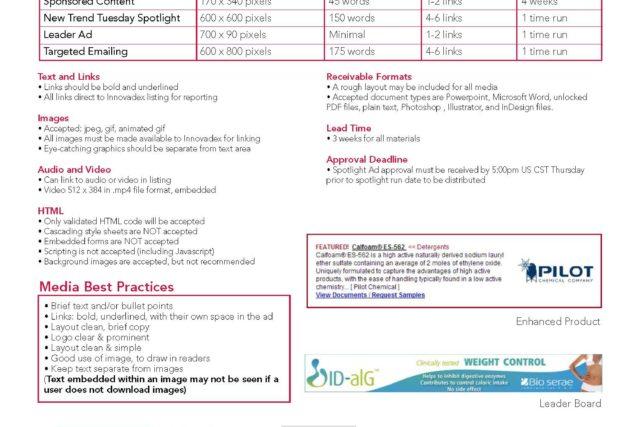 Prospector Media Spec Sheet