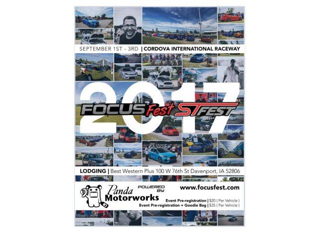 FocusFest / STfest 2017 Flyer