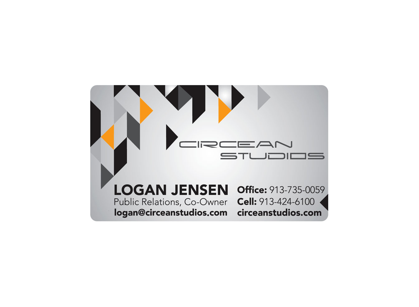 Circean Studios business card design