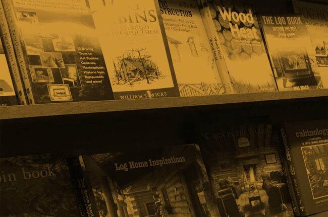 Charlie Johns book display