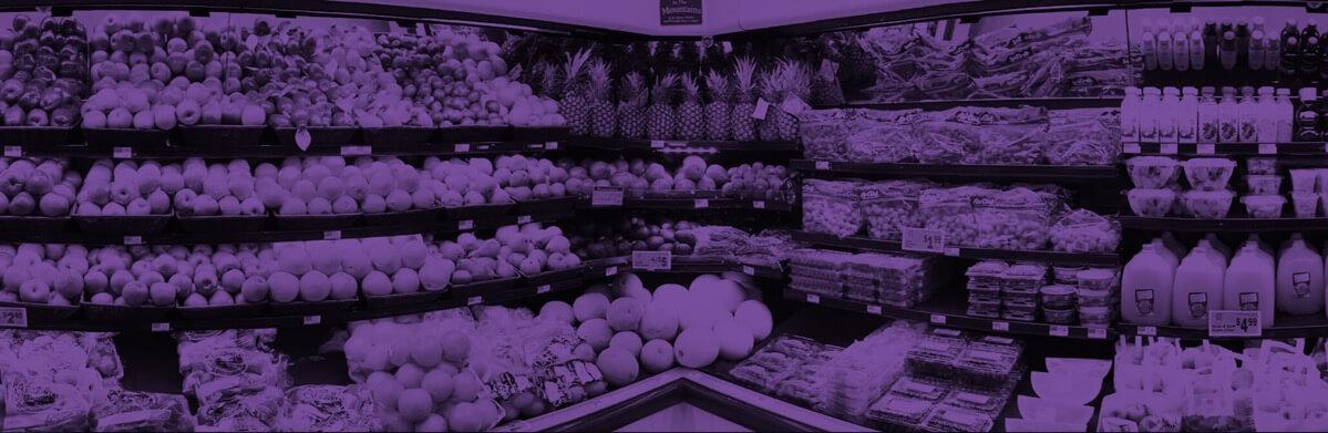 Charlie Johns store food display