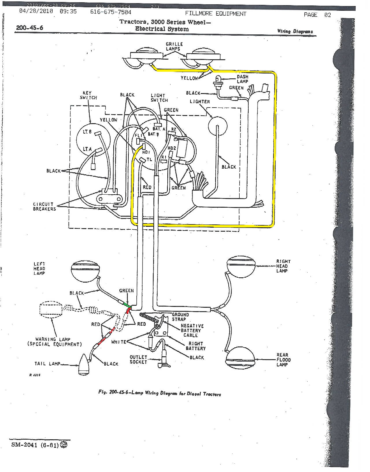 John Deere Ignition Switch Wiring Diagram