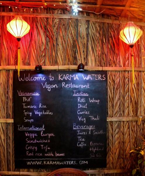 karma waters Vegan Cooking Class