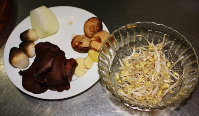 mushrooms Vegan Cooking Class