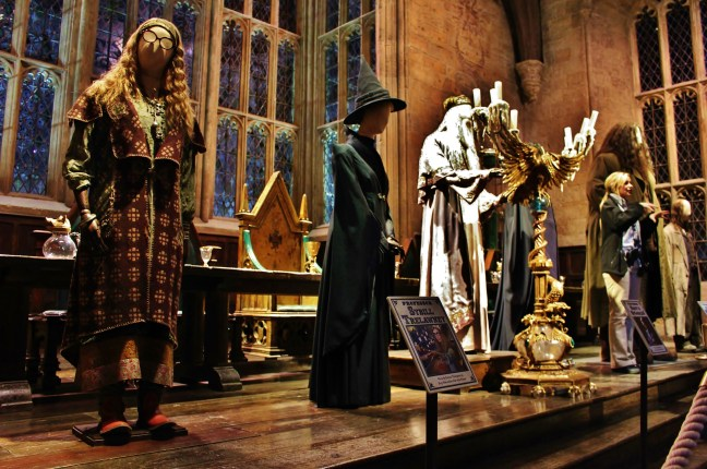 Inside the Great Hall hp studio tour