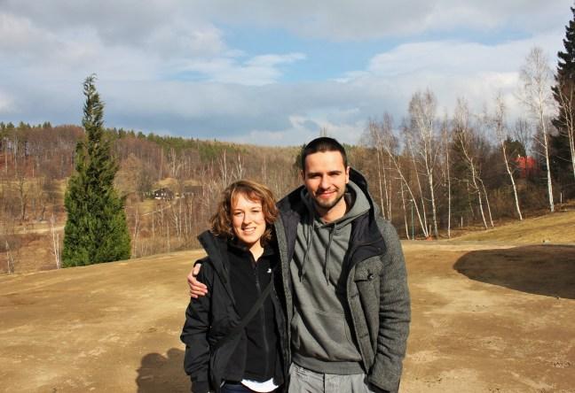 wojtek and me