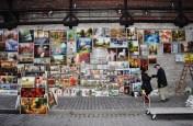 An art seller in Krakow