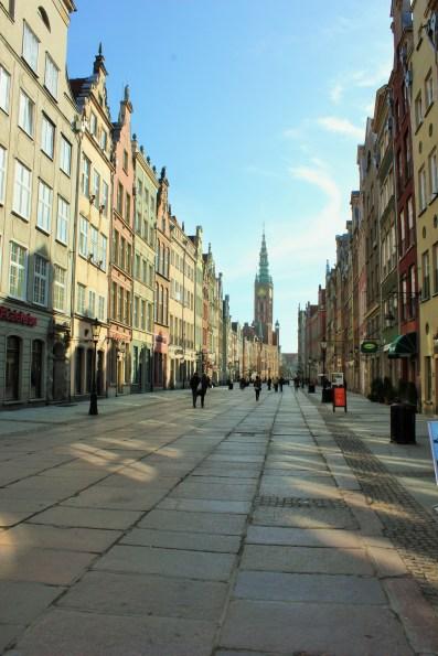 streets of Gdańsk Romance in Gdańsk