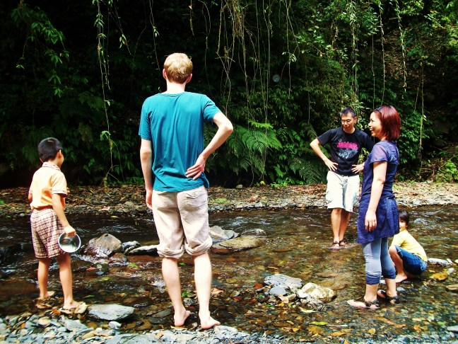 river taiwan learning a foreign language