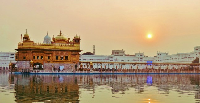 The Golden Temple Harmandir Sahib Northern India