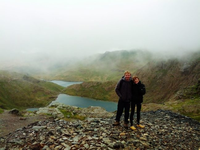 Chaz & Luke Snowdon seasonal hikes