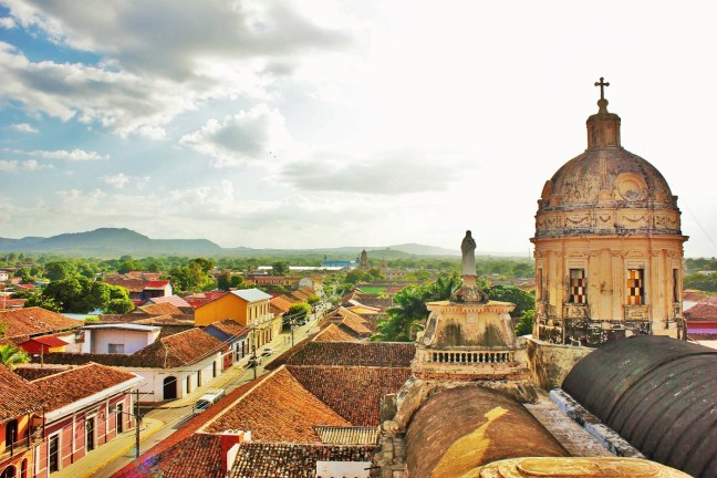 View over beautiful Granada Nicaragua - Charlie on Travel