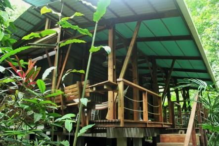 Cabins at La Kukula Eco-Lodge in Costa Rica